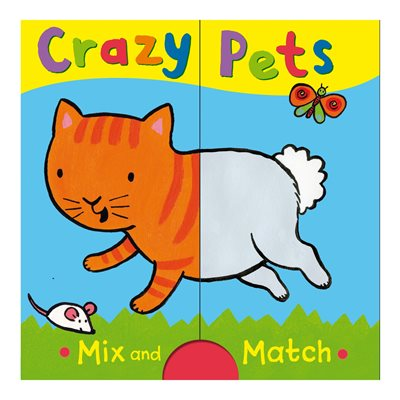 Book cover for Crazy Pets: Mix and Match